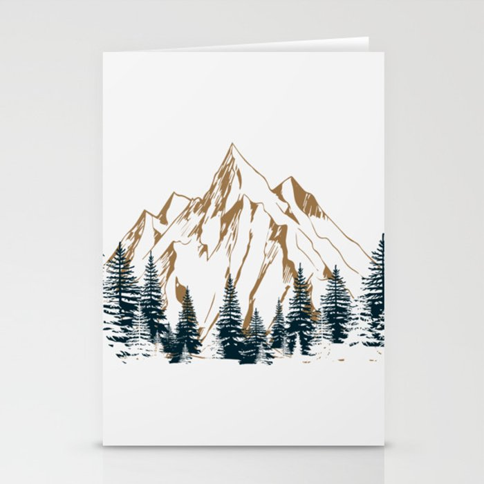 mountain # 4 Stationery Cards