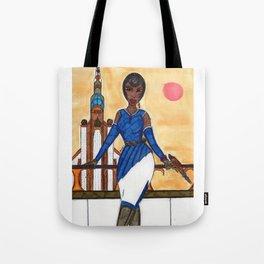 The Sophisticated Adventurer Tote Bag