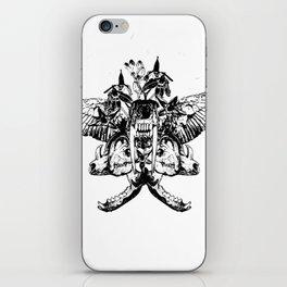 Deathshead - Belladonna Nightshade iPhone Skin