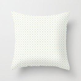 Dotty dotty Throw Pillow