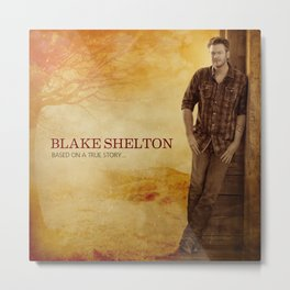 Blake Shelton Metal Print