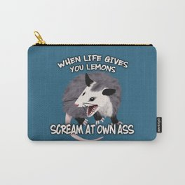 Possum Wisdom Carry-All Pouch