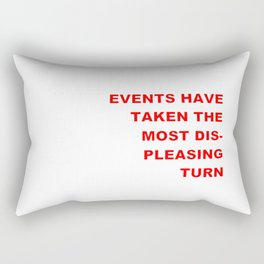 The Events & the Evaluation of 2016 (Variation on a net meme) Rectangular Pillow