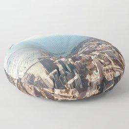 Miami Skyline Floor Pillow