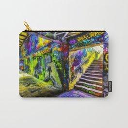 London Graffiti Van Gogh Carry-All Pouch