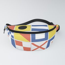 Nautical Flags Fanny Pack