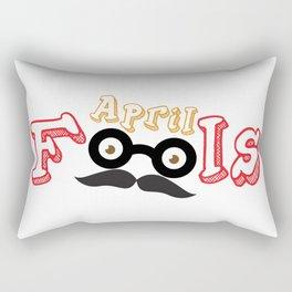 april fools Rectangular Pillow
