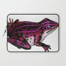 Pinky the Frog Laptop Sleeve