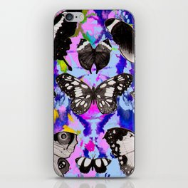 Tie Dye Butterflies iPhone Skin
