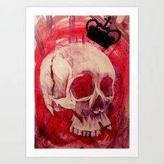 The Last King Art Print
