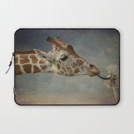 Cute baby Giraffe Laptop Sleeve