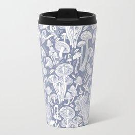 Delicious Autumn botanical poison IV // blue grey background Travel Mug