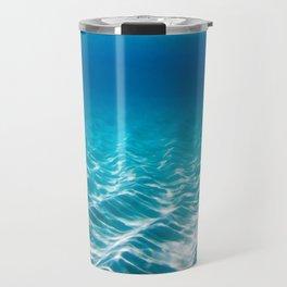 Aqua Blue Bliss Travel Mug