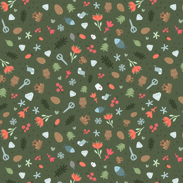 Ethnic Yakutian pattern Comforters