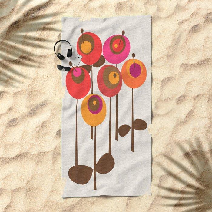 Summer Joy Beach Towel