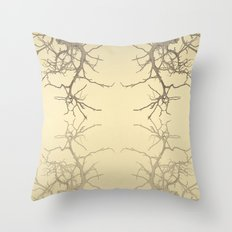 branches#06 Throw Pillow