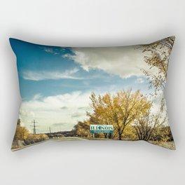 By The Riverside #5 Rectangular Pillow