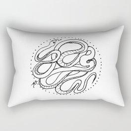 Long Snake Rectangular Pillow