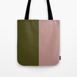 Color Block Abstract IX Tote Bag