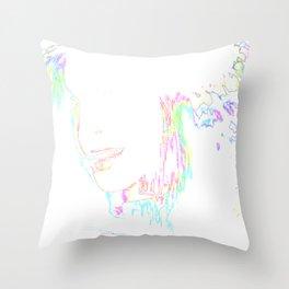 NeoWoman Throw Pillow