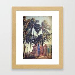 Classic Hawaii Framed Art Print