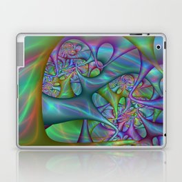 Colorful labyrinth Laptop & iPad Skin