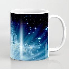 Magical Enchanted Castle Blue Coffee Mug