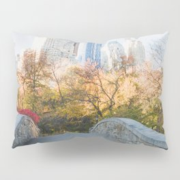 Central Park as the City Wakes Up Pillow Sham
