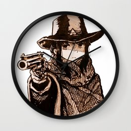 Fastest camp in the west Wall Clock