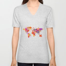 Mother Earth Crying Unisex V-Neck