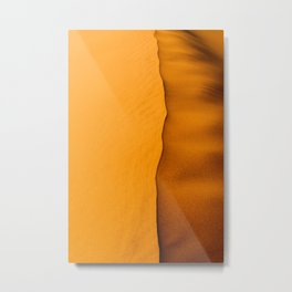 Sand dunes in the Namib desert near Sossusvlei Metal Print