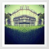 mansion Art Print