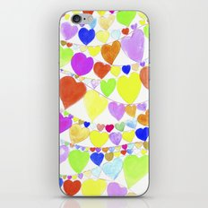 garlands of hearts  iPhone & iPod Skin