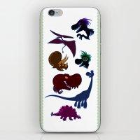 cartoons iPhone & iPod Skins featuring Dinosaur Cartoons by Cartoonasaurus