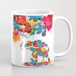 Paint elephant Coffee Mug
