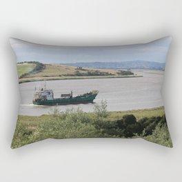 Ship into Launceston Docks* Rectangular Pillow