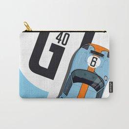 GT40 Le Mans 1968 Rodriguez-Bianchi Carry-All Pouch