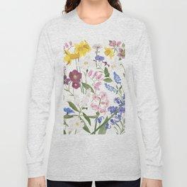 Spring Flowers Long Sleeve T-shirt