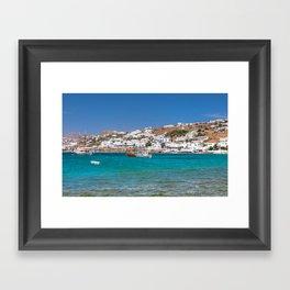 Mykonos Framed Art Print