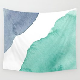 Watercolor Drops Wall Tapestry