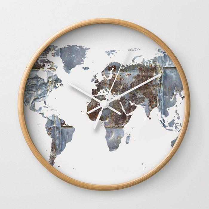 World Mapmetal