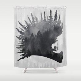 MTB Punk Shower Curtain