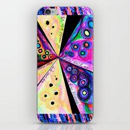 Neon Mosaic iPhone Skin