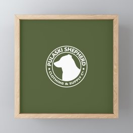 Olive PSCSCo Framed Mini Art Print