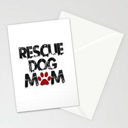 Rescue Dog Mom Stationery Cards