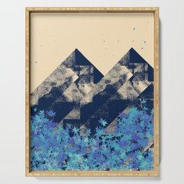 Blue Mountains #society6 #decor #buyart Serving Tray