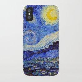 "Vincent van Gogh "" Starry Night "" iPhone Case"