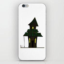 Haunted House iPhone Skin
