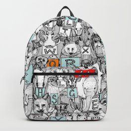 animal ABC Backpack