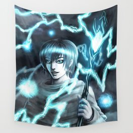 Storm God Wall Tapestry